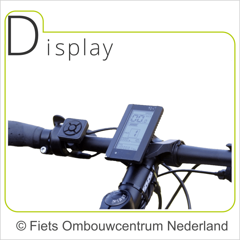 FON Bafang 8fun BBS01 middenmotor ombouwset elektrische fiets