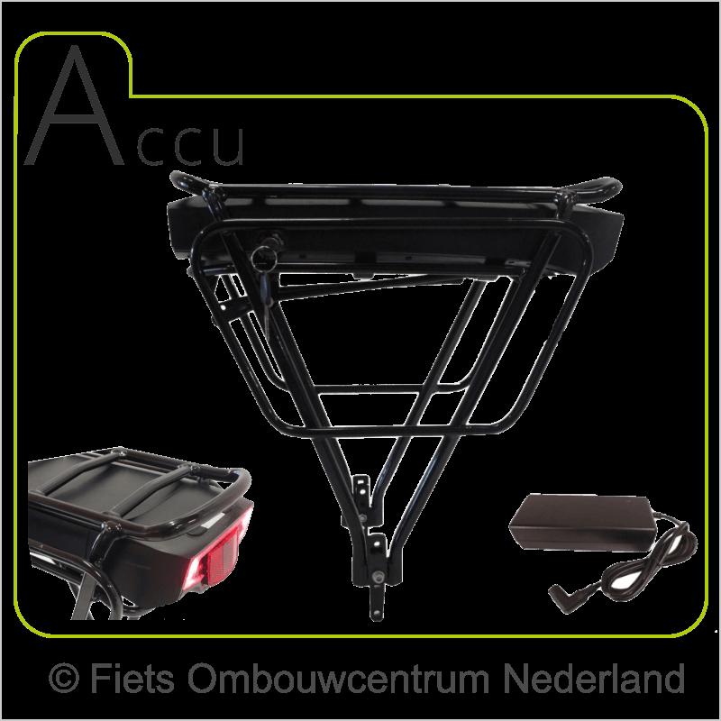 FON voorwielmotor ombouwset elektrische fiets accu1