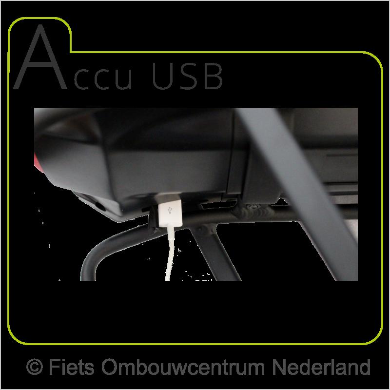 FON 8fun middenmotor ombouwset elektrische fiets accu met USB