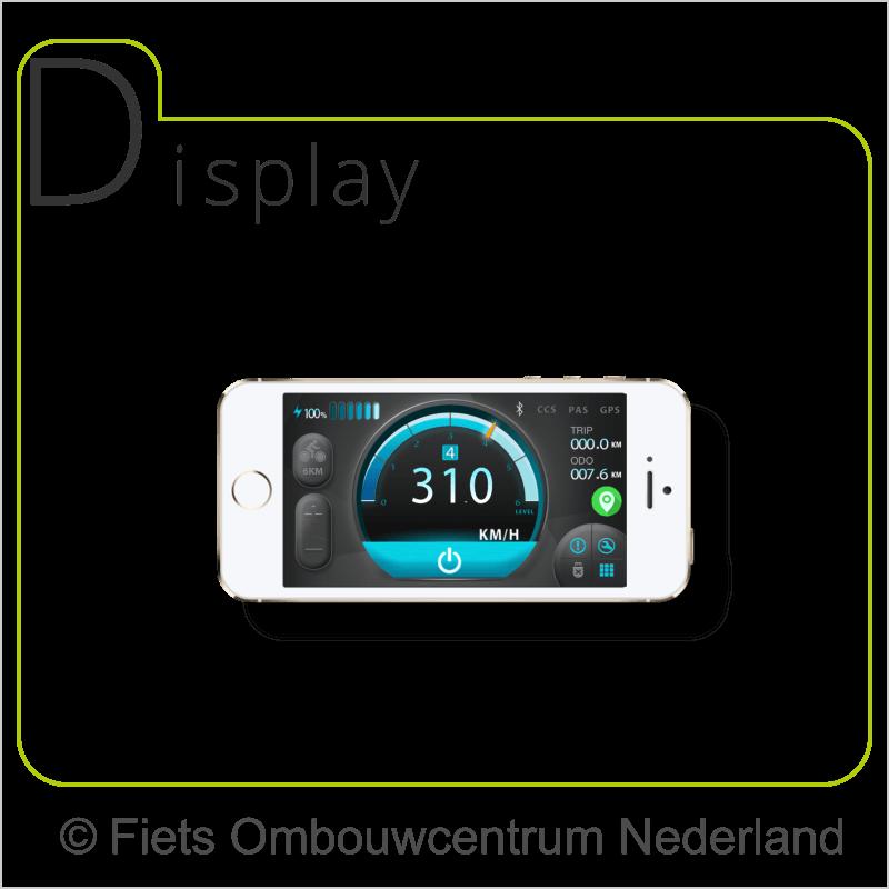 FON smartphone ombouwset elektrische fiets app1