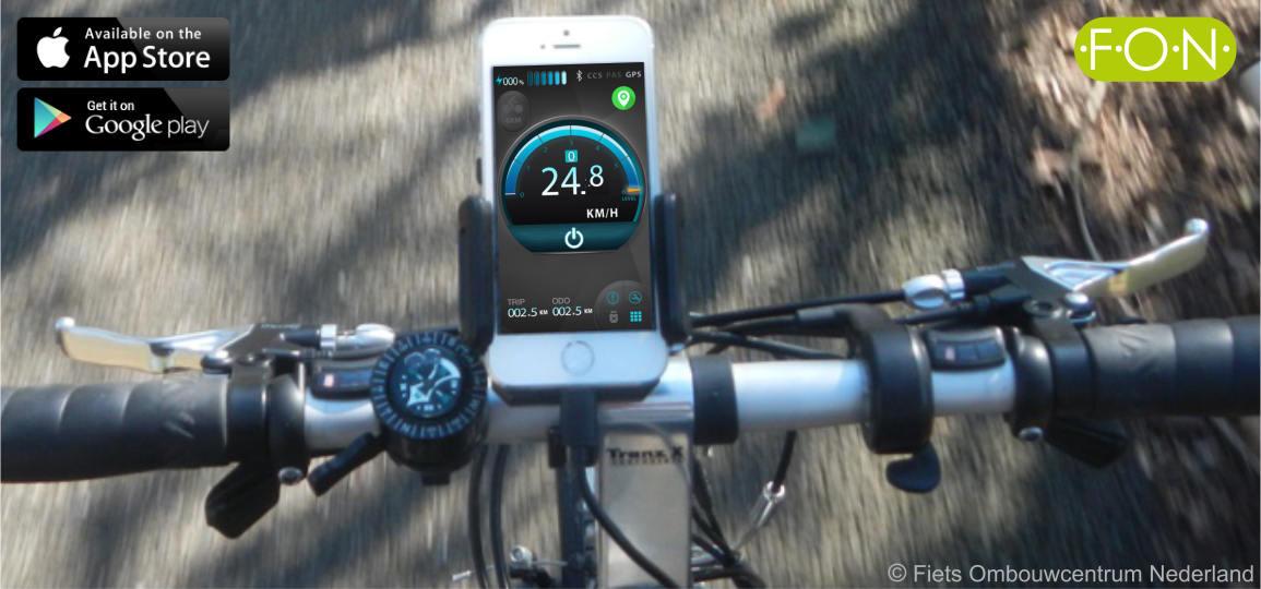 Bedien je ebike met een smartphone - met de AppKit