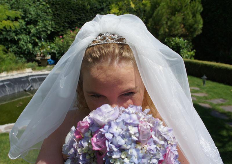 Kleine Aussicht auf die Braut