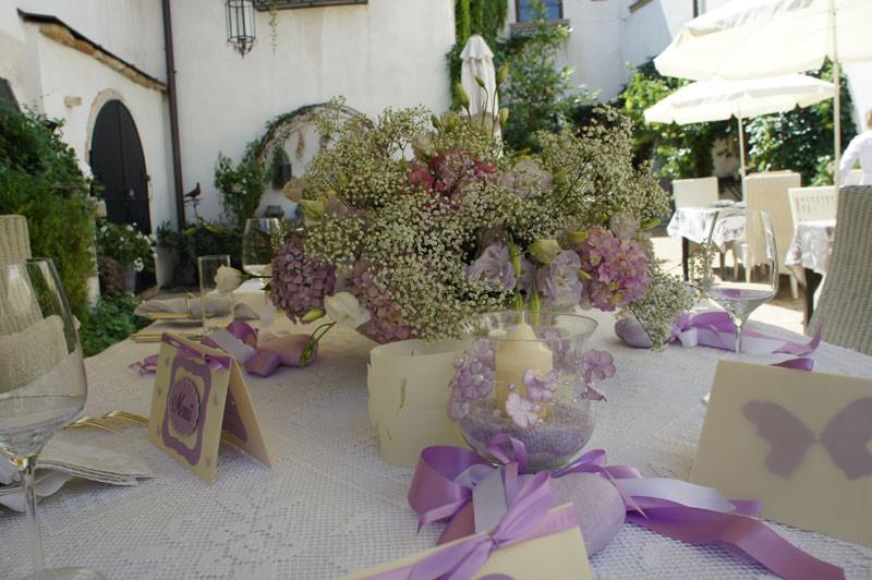 Unser Hochzeitstisch