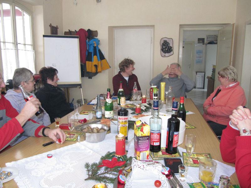 Heiligabend Frühstück im Bauhof