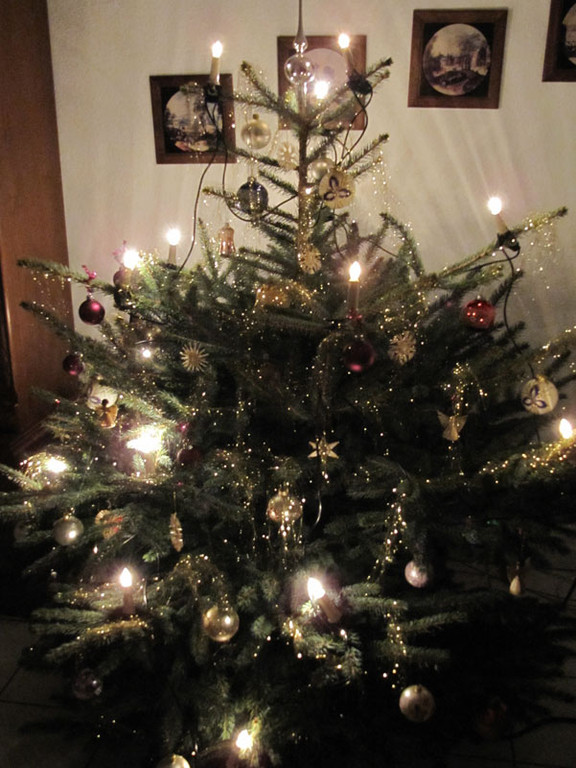 Der Weihnachtsbaum meiner Großeltern