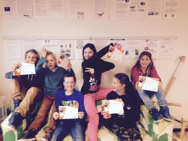 Timo, Jesper, Daniel, Tessa, Mayra en Elin van De Waterwilg zijn geslaagd voor hun diploma op 12 februari 2015.