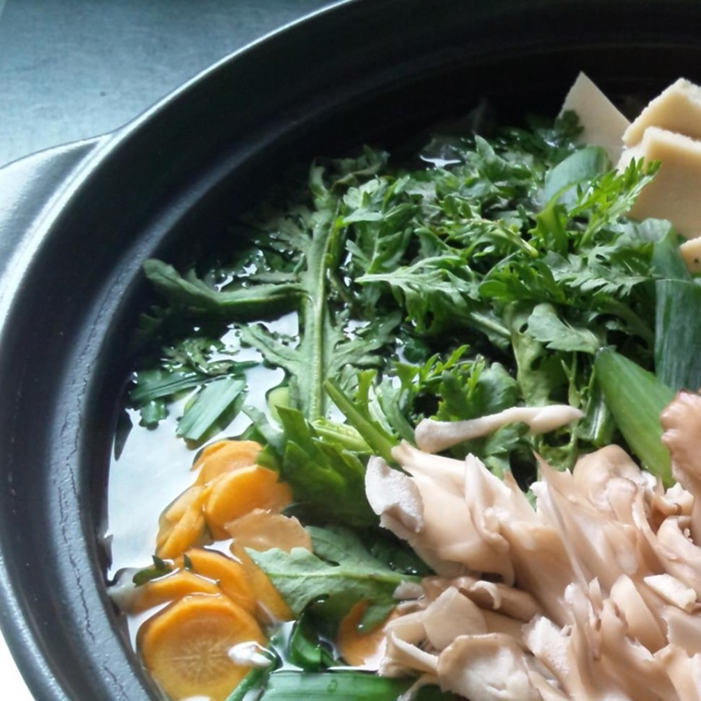 ヘルシー鍋料理