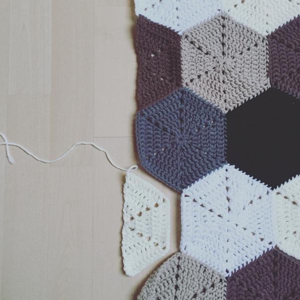 Tutorial Halbes Sechseck Half Simple Hexagon Häkeln Macht