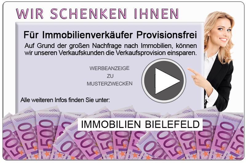 Immobilienmakler Bielefeld OHNE INNENPROVISION OHNE VERKÄUFERPROVISION PROVISIONSFREIE MAKLER