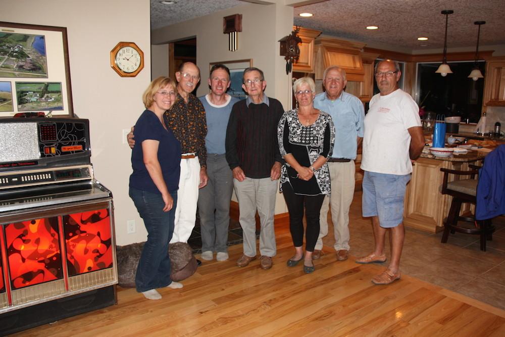 Avec Robin SHADLOW, Keith KEPPEL, Thomas JOHNSON, Barry BLYTH et Joe GHIO