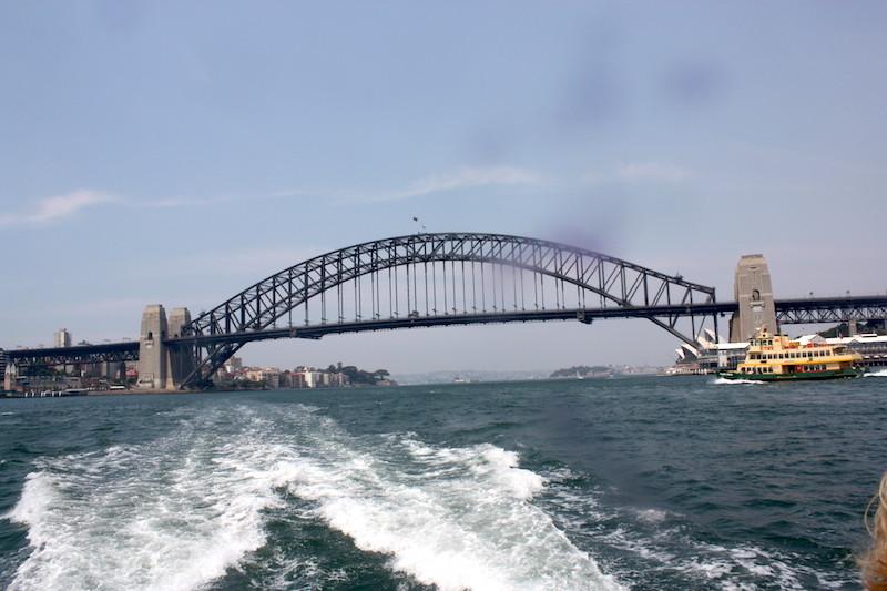 Le grand pont de Sydney