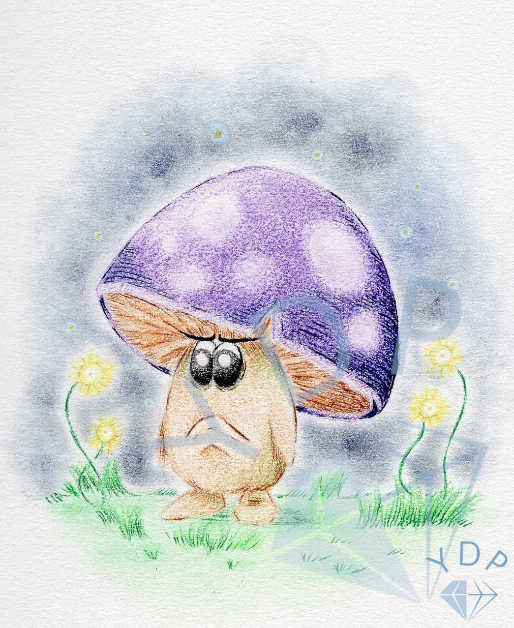Annoyed Mushroom