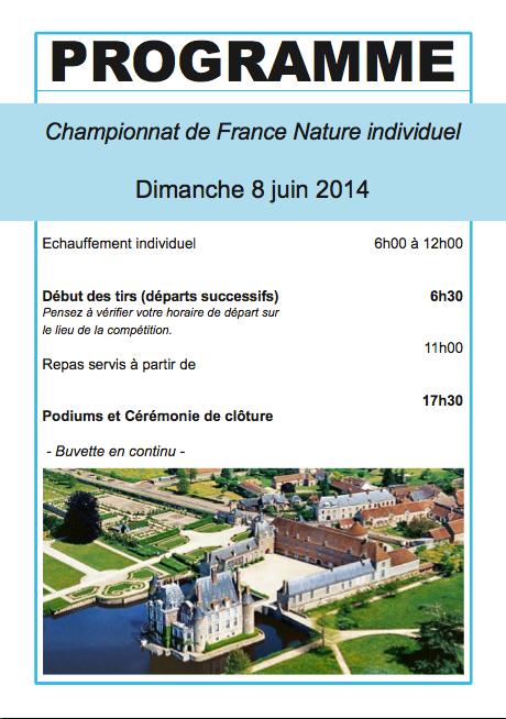 La Bussière, CF Nature 2014