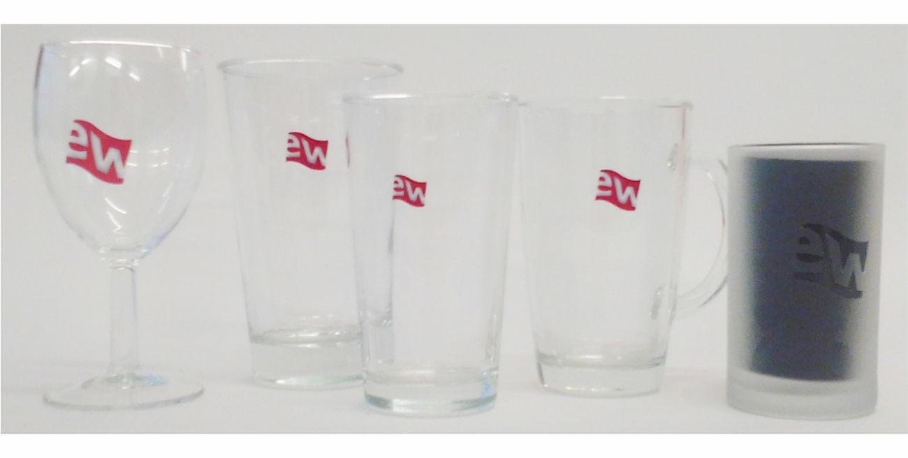 Branding auf Glas