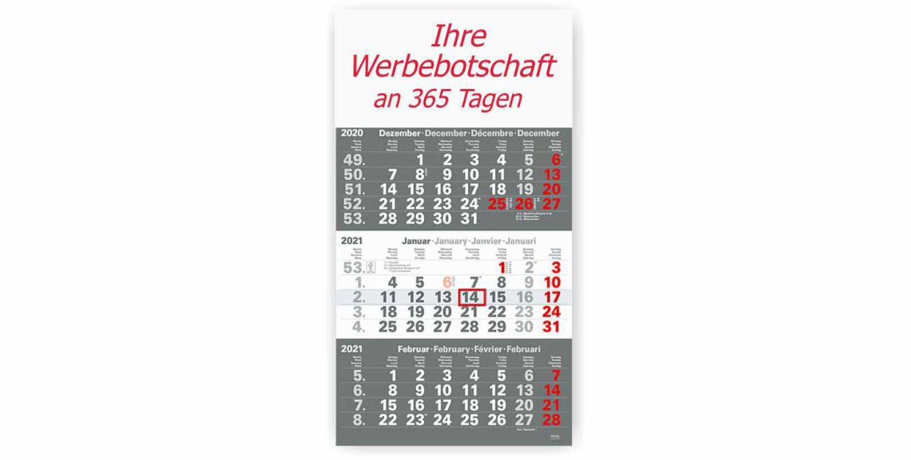 3-Monatskalender 2021