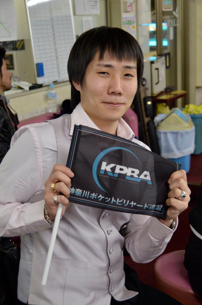 ※註:小川徳郎選手は神奈川ですがKPBAではありません(笑)