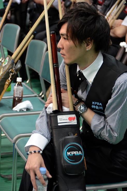 出番を待つ神奈川・園山選手