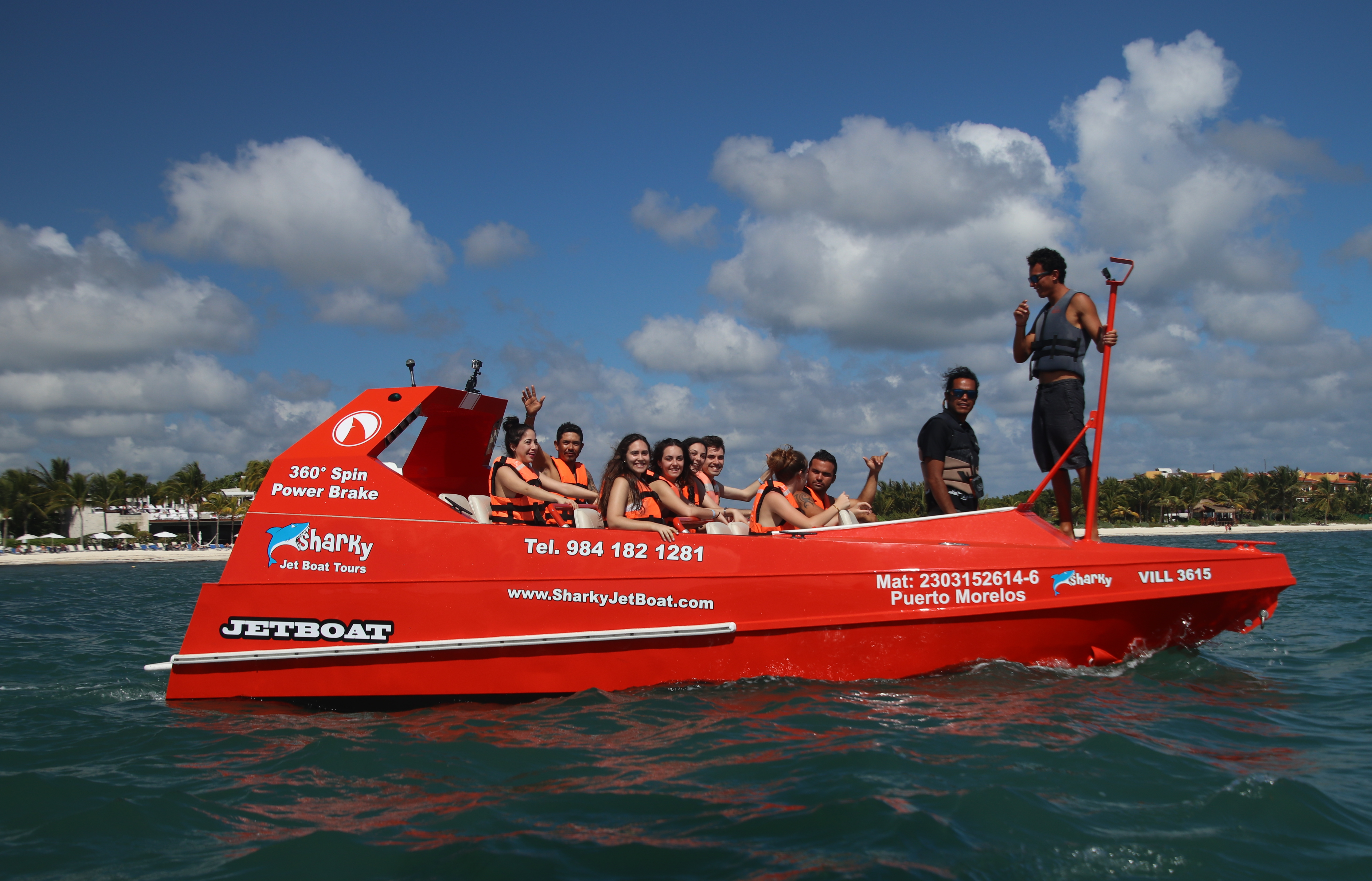 Our Boat - SharkyJetBoat com