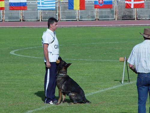 FCI WM Turin 2007 mit Gringo von der Geißenwand