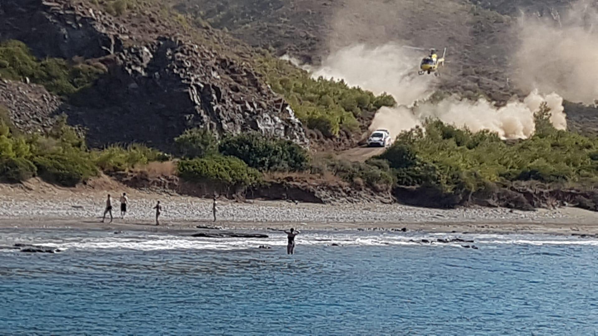 Turkey WRC suivi de spéciale depuis la mer