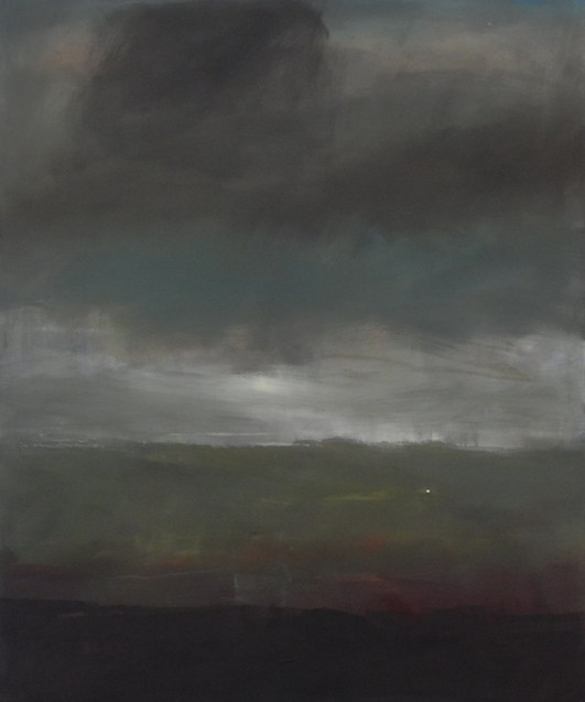 Dämmerung, Öl/Leinwand, 120 x 100 cm, 2019