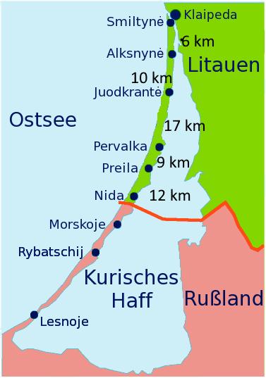 Bild Quelle: https://de.wikivoyage.org/wiki/Kurische_Nehrung