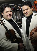 ヴァイオリン/チェロ シャンドル&アダム・ヤボルカイ