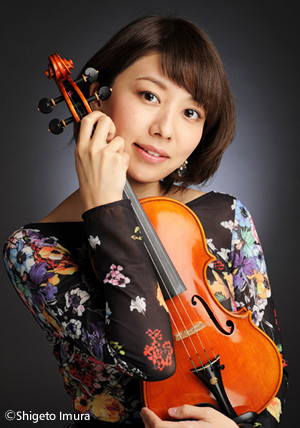 ヴァイオリン 松田理奈