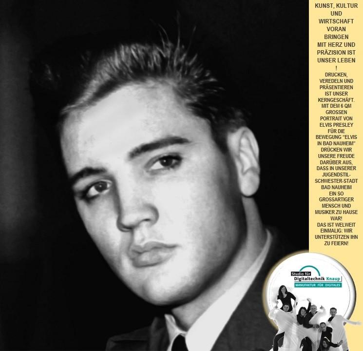 Elvis in Bad Nauheim und Studio für Digitaltechnik aus Darmstadt
