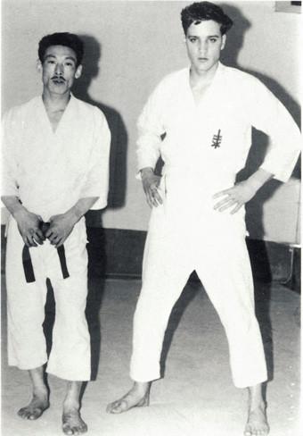 Image result for elvis presley and Tetsuji Murakami