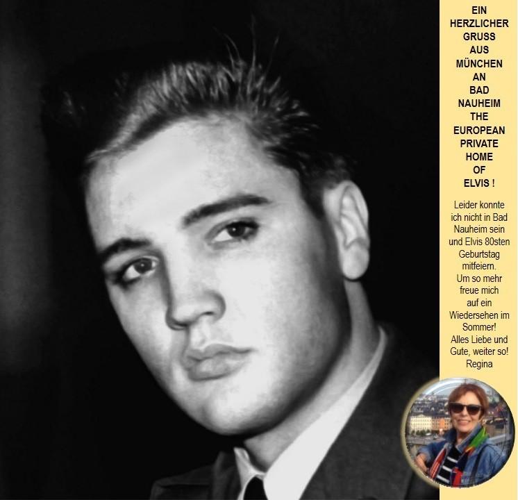 Elvis in Bad Nauheim und Regina aus München