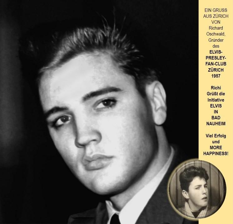 Elvis in Bad Nauheim und Richi aus Zürich