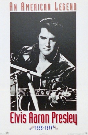 Ausstellungsstück Elvis im DB Museum 2008
