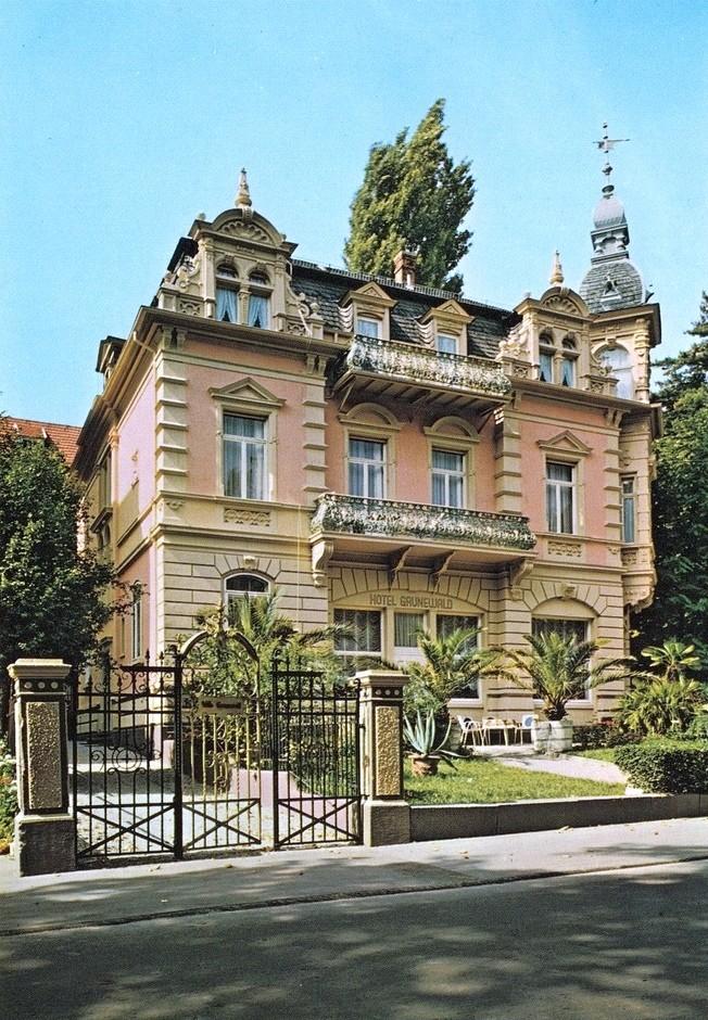Elvis-Hotel Grunewald, Postkartenmotive aus der Sammlung Rüdiger Puls
