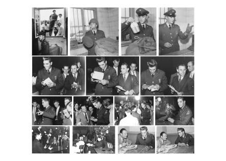 G.I.  ELVIS PRESLEY - Postkarte 2 von 4, Fotos:  Horst Schüssler