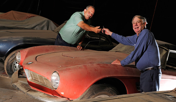 Scheunenfund in Amerika: Jack Castors, bzw. Elvis Presleys legendärer BMW 507