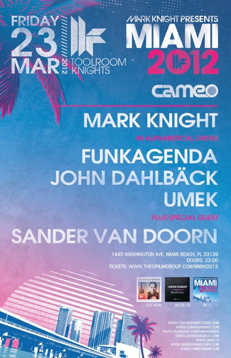 Toolroom Knights Miami