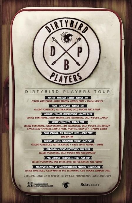 dirtybird players Global tour