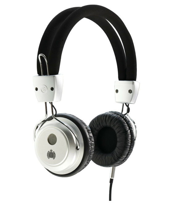 Ministry of Sound 006 Headphones - Silver/Black