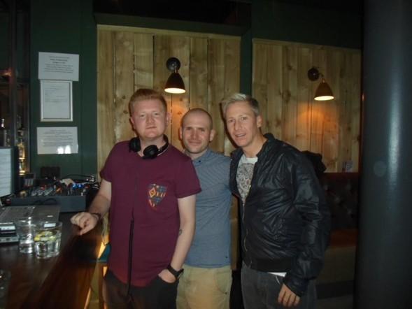 Chris McPartlin, Robert McGloan & Allan 'Culoblanco' Whiteford