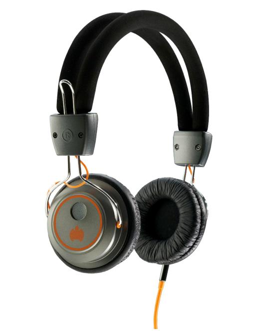 Ministry of Sound 006 Headphones - Gunmetal/Orange