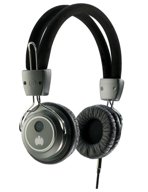 Ministry of Sound 006 Headphones - Gunmetal/Black