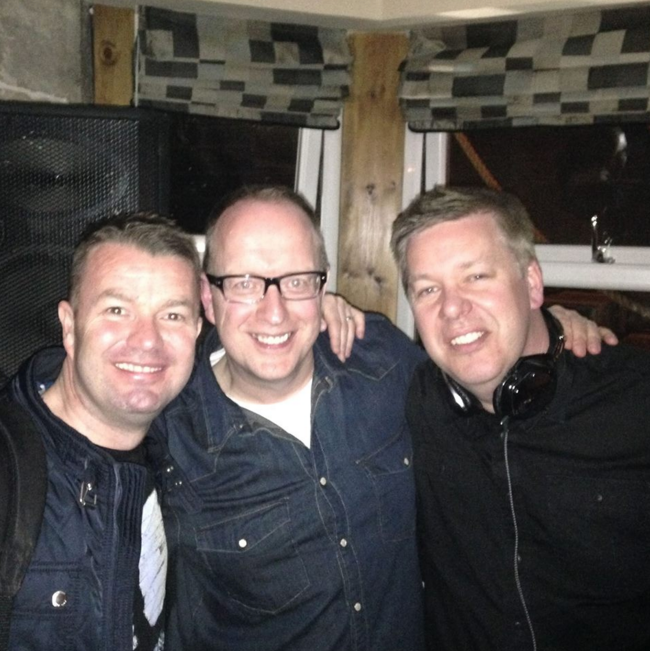 Scott Mackay, Kevin McFarlane & Stephen Lee