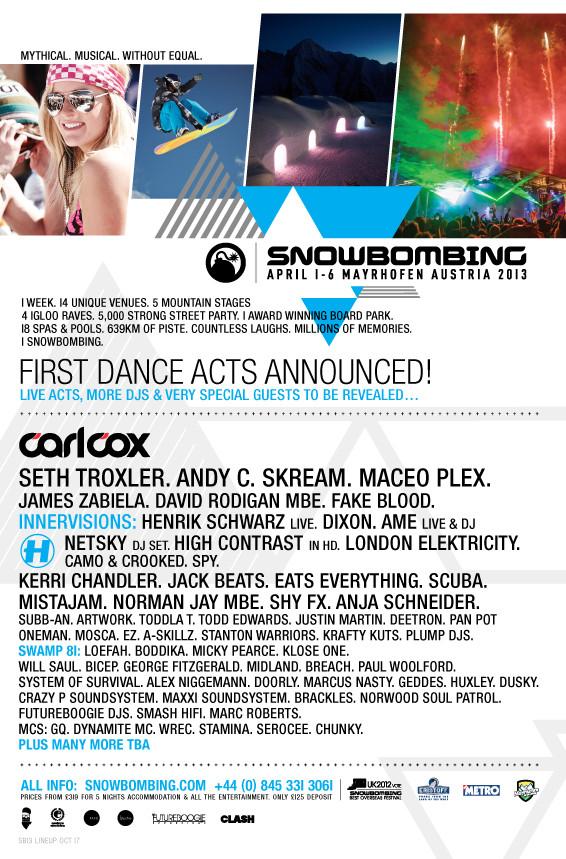 Snowbombing 2013