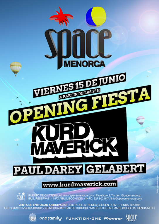 Space Menorca | Opening Fiesta