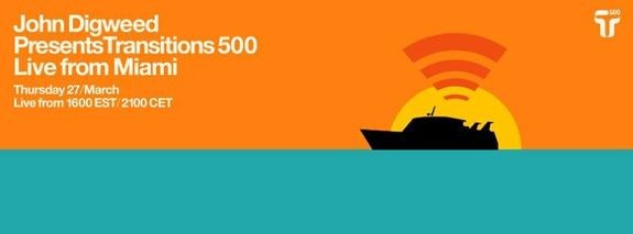 John Digweed Presents Transitions 500