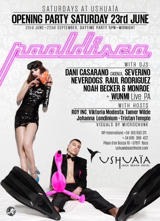 Pooldisco | Ushuaïa Ibiza Beach Hotel