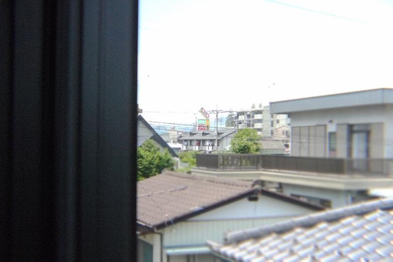 洋室 北側からの眺望