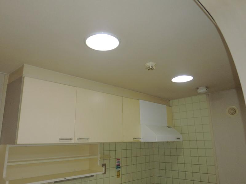 キッチン 照明