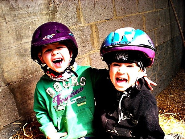 Spiel und Spaß beim Bauernhofurlaub Eifel